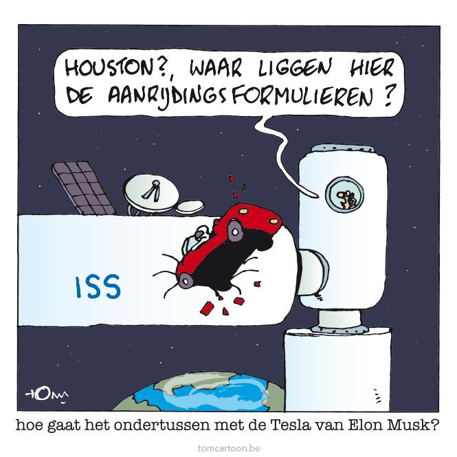 Cartoon v/d Dag