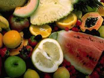 Hier ziet u fruit.