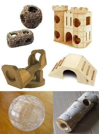 chinchilla speelgoed zelf maken