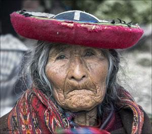 Foto vd dag - Brons: Wimper - In Peru