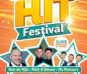 Hitfestival brengt Rob de Nijs, De Romeo's en Nick & Simon samen!
