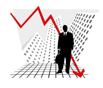 Beleggers vrezen een beurscrash