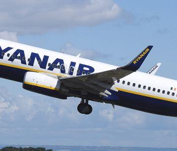 Op vakantie met Ryanair