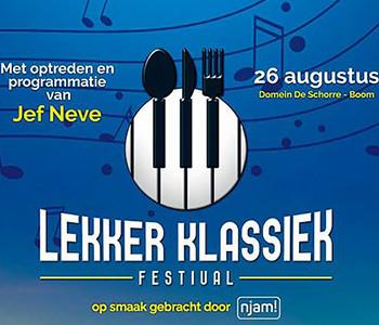 Gek op klassieke muziek en lekker eten? Bestel nog snel je tickets!