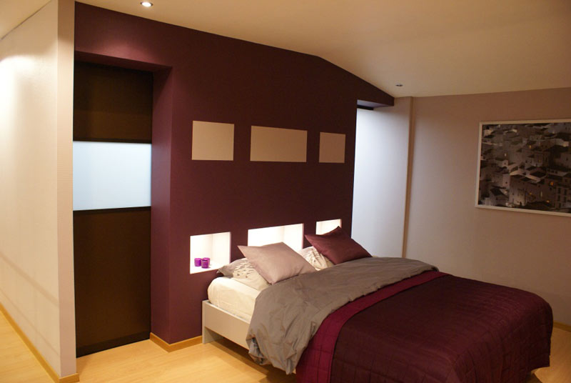 Kast Als Scheidingswand Slaapkamer : Dit ontwerp heeft ook een ...