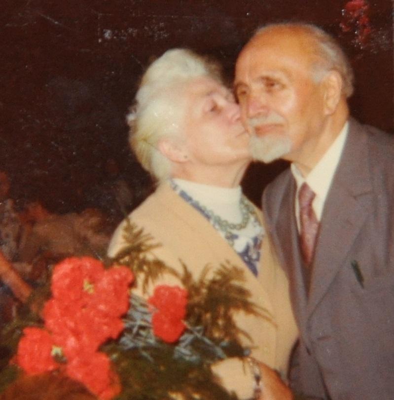 Arthur en echtgenote - 91 jaar