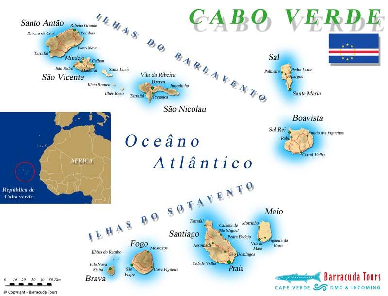 Waar Ligt Kaapverdie.De Kaapverdische Eilanden Afrikaanse Betovering Met
