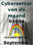Cybersenior van de maand September 2004 BRONS op www.seniorennet.be