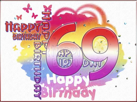 69 jaar 69 Jaar Verjaardag   ARCHIDEV 69 jaar