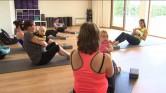 Nieuw: Gebruik baby als gewicht in fitness