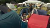 Camping PKP loopt leeg na laatste dag